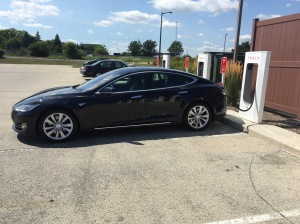 Charging at Pleasant Prairie